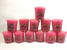 PINK DRAGON FRUIT Yankee Candle VOTIVE candles lot of 12 votives new