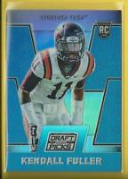 Kendall Fuller RC 2016 Prizm Draft PRIZMS BLUE Rookie Virginia Tech Chiefs NFL