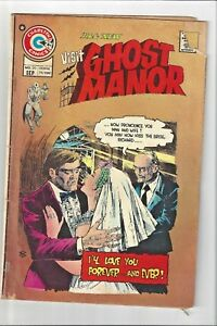 """Ghost Manor  No.20 1974:""""I love you forever and ever""""!Vintage Comic Horror"""