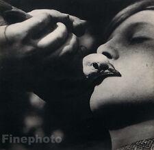 1931 Vintage BEAUTIFUL DOVE KISS Bird France Photo Fine Art 16x20 By JEAN MORAL