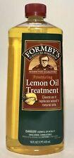 16 Fl. Oz. Lemon Oil Furniture Treatment, (FORMBY'S LEMON OIL TREATMENT) New