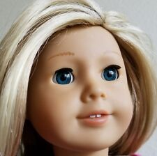 "AMERICAN GIRL 18"" doll #27 JUST LIKE YOU  blonde hair blue eyes TRULY ME"