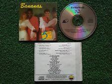Latin BANANAS **5 Años De Música** VERY RARE Colombia CD