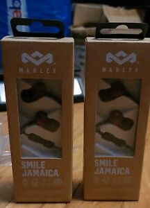 House of Marley EM-JE041-BA Smile Jamaica Wired Earbuds