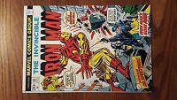Iron Man # 65 - Origin of Dr. Spectrum!  LOOK!