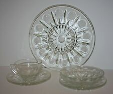 Princess House Regency 5-pc Place Setting Dinner Plate bowl saucer cup w/box 520