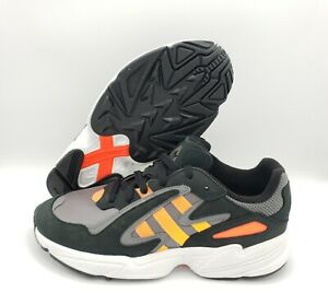 ADIDAS Yung-96 Chasm Shoes/Sneakers Black/Coral/Solar Red [Men's Size 10] EE7227