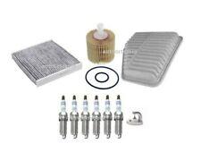FOR TOYOTA ESTIMA 3.5i GSR50W V6 SERVICE KIT OIL/AIR/ POLLEN FILTER/PLUGS 06 >ON
