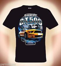 T-Shirt Ford Mustang, Shelby Cobra GT 500, JAUNE, S 3XL (jusqu'à 5XL poss