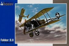 Special Hobby 1/48 Fokker D.II BLANCO Y NEGRO Tails #48038