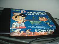 1940 Dietz Gum Pinocchio Empty Display Box Walt Disney's