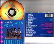 The Chordettes- Mainly Rock n Roll - The Greatest Hits/Best of CD (1990 ACE)