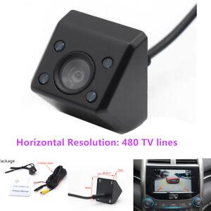 IR Light Car Rear View Camera Night Vision Wide Angle Waterproof for RV Mini-van