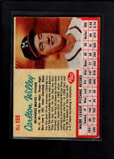 1962 POST CEREAL #155 CARLTON WILLEY EX F1954