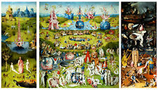 The Garden of Earthly Delights by Hieronymus Bosch Quality Canvas Print