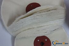 """8""""200mm X50 layers Unstitched Cloth Buffing Wheel for polishing all metals steel"""