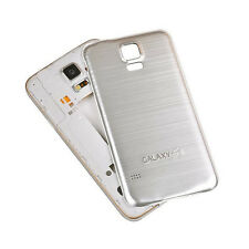 ★★★ Metall Backcover Cover für Samsung Galaxy S5 Alu Silber Case Akkudeckel ★★★