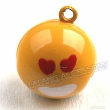 5x 270093 Wholesale New Love You Charms Jingle Bell 19.5mm Fit Christmas/Party