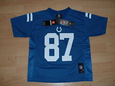 INDIANAPOLIS COLTS REGGIE WAYNE #87 JERSEY KIDS SIZE 4