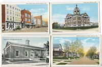 5 1915-20's era & 1930's-40's Boonville  Indiana  Postcards  Really Nice Cards!