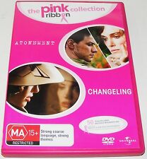 ATONEMENT / CHANGELING--- (DVD, 2010, 2-Disc Set)