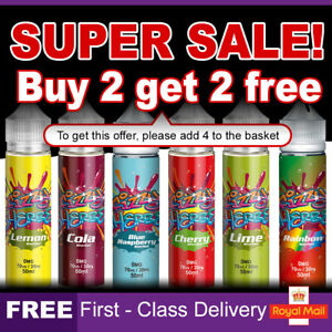 Fizzy Sherbet E Liquid 0mg Cheap Vape Juice E-Liquid E-Cigs Nicotine