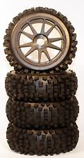 1/8 Big-Blocks BSK Pre-Mounted 1/8 Buggy Tires Glued
