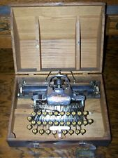 Antique 1913 Blickensderfer Model 6 Aluminium Vintage Typewriter