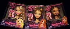 BRATZ Head Gamez YASMIN MEYGAN & CLOE  Doll Fashion Head, NEW LOT GAMES