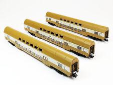Kühn 91020 - 3er Set Doppelstockwagen der DR, Epoche IV - Spur N - NEU