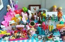 Barbie Miniature Household Accessories Huge Lot *204 item 00006000 s*