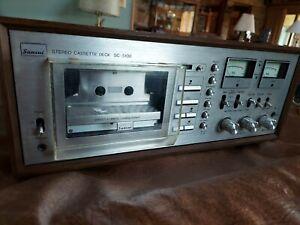 Sansui SC 5100 TOTL Vintage Cassette Deck. Parts or Repair. Manual Brochure