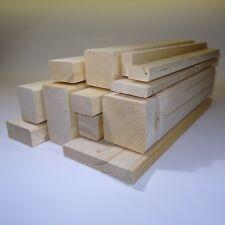 1 Stück Rahmenholz Fichte H/B/L 18mm x 24mm x 2000mm Holz Leiste Basteln FSC