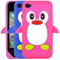 Coque Silicone Souple Motif Pingouin Apple iPhone 7 6 6S 6S Plus SE 5S 5 4S 4