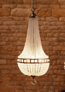 Beautiful Empire Chandelier Tent and Bag Style Glass Beads Quality Light Fitting