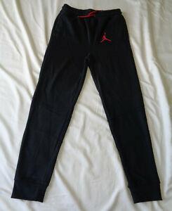 Boys Nike Air Jordan Tech Fleece Sweatpants Black/Red Size XL Style # 954602 023