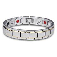 Hommes Magnétique Bracelet Santé Arthrite Cooper Douleur Soulagement Femmes Neuf