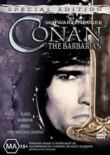 Conan The Barbarian - Action / Adventure / Arnold Schwarzenegger - NEW DVD