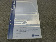 1997 1998 Saab 9-5  Electrical Wiring Diagrams & 3:2 System Shop Service Manual
