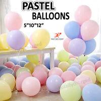 100pcs 10'' Pastel Latex Balloons Macaron Candy Mixed Colored Party Ballon decor