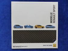 Renault Sport - Megane GT Clio Twingo Wind Gordini - Prospekt Brochure 08.2011