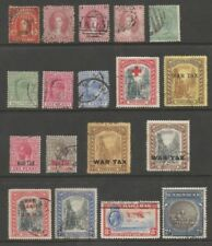 Used Multiple Bahamian Stamps (Pre-1973)