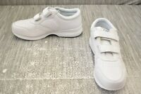 Propet LifeWalker Strap M3705 Walking Shoes, Men's Size 8.5XX(5E), White NEW