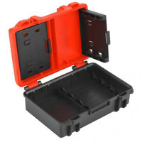 Durable Camera Battery Memory Card Storage Protective Box Case For LP-E6 LP-E10