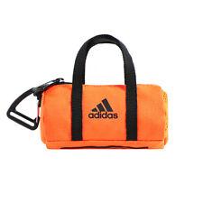 Adidas Tiny Mini Duffle Bag Key Holder Keychain Keyring Orange FU1114