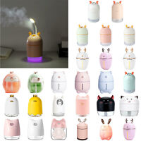 Xmas Deer LED Ultrasonic Air Humidifier Aroma Essential Oil Diffuser Purifier