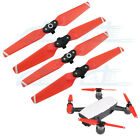 2 pairs 4730F Quick-Release Foldable Propellers Blades Red for DJI Spark Drone