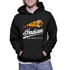 INDIAN MOTORCYCLE LOGO Pullover Hoodie Size XS S M L XL 2XL Mens Classic