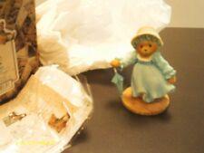 Cherished Teddies / Theresa - Victorian girl in blue dress - 1999