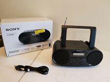 Sony ZS-RS60BT CD MP3 Bluetooth NFC BOOMBOX AM/FM Radio